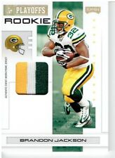 Brandon Jackson 2007 Playoff NFL Playoffs Materials Gold Prime #105 04/10