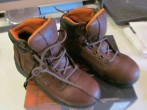 """NEW Timberland PRO Men's Titan 6"""" Safety Toe  26063 Size 7M Coffee"""