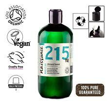 Naissance Mandelöl süß BIO - 500ml - 100 % rein kaltgepresst, vegan, hexanfrei