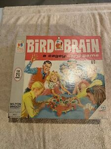 Bird Brain game vintage 1966 Milton Bradley EXCELLENT complete & very RARE