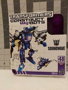 Soundwave Construct Bots Transformers Elite Class 48 Pieces Factory 🏭 Sealed
