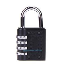 4 Dial Digit Combination Password Lock Travel Luggage Code Padlock Suitcase Lock