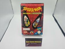 NES Spider Man Return of the Sinister Six  PAL B Ovp Leer / Empty