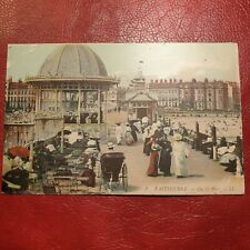 More details for antique 1913 postcard eastbourne on the pier postally used