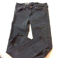AG Adriano Goldschmied Stevie Gray Slim Ankle Stretch Jeans, Size 27