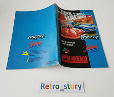 Super Nintendo SNES Rock 'N Roll Racing Notice / Instruction Manual