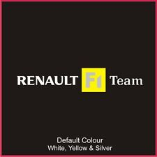 Renault F1 Team Decal Updated  Style, Clio, Vinyl, Sticker, Graphics,Car, N2066