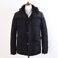 Barbour Cromer Jacket Jacke Gr M Fibredown Puffer Marineblau Navy Grau Grey Quil
