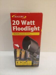 Malibu 20w Floodlight Metal Low Voltage Landscape Light 8301-9604-01
