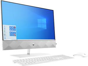"HP Pavilion 24-k0018na 23.8"" AIO Desktop R5 4600H 16GB 256GB, White - 1P0B8EA"