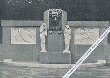 Franzensbad - Františkovy Lázně - Goethe-Denkmal - um 1905 - selten - L 22-13