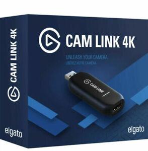 Elgato CamLink 4K Capture Device HD Recording / Streaming Brand New