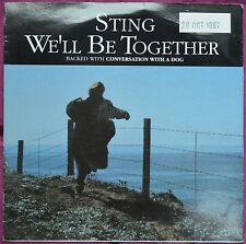 """Sting – We'll Be Together 7"""" – AM 410 – The Police – VG"""