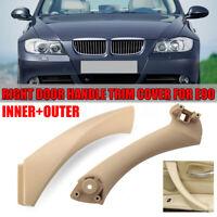 Para BMW E90 3 Series Beige derecho interior & exterior de la puerta del panel d