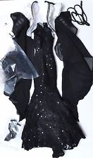 "Wilde Imagination Parnilla Gothic Glam 19"" OUTFIT & ACCESSORIES NEW Evangeline"