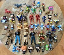 Toy Figurine Vintage Lot Of 50 Marvel WWE Hello Kitty TMNT Funko Potter Disney