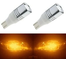LED Light 5W 921 Amber Orange Two Bulbs Back Up Reverse Replacement Lamp Stock