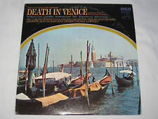 DEATH IN VENICE & OTHER FILM THEMES 33 LP VINYL RECORD ORMANDY VAN CLIBURN &MORE
