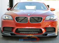 3D Style Carbon Fiber Front Lip Spoiler For BMW F10 5Series M5 Model 12UP B201