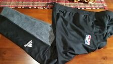 Milwaukee Bucks NBA Basketball  Adidas Black Warm Up Pants, Size 3XL NEW