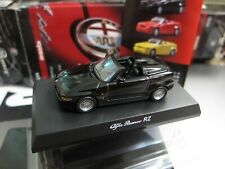 Kyosho - Alfa Romeo Collection 2 - RZ - Black - Scale 1/64 - Mini Car A14