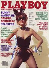 Sandra Bernhard AUTHENTIC Autographed Playboy Cover COA SHA #11858