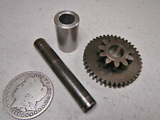 85 YAMAHA YTM225DX YTM225 TRI-MOTO STARTER GEAR SHAFT & SPACER COLLAR
