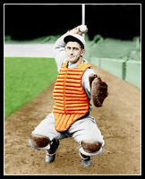 Mickey Cochrane Photo 8X10 - 1930 Philly A's COLORIZED - Buy Any 2 Get 1 FREE