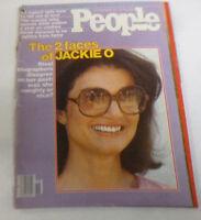 People Weekly Magazine  2 Faces Of Jackie Onassis November 12 1978 NO ML 043014R