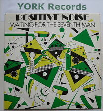 """POSITIVE NOISE - Waiting For The Seventh Man - Excellent Con 7"""" Single STAT 15"""