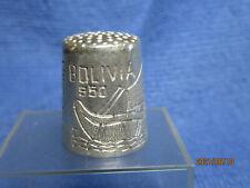 Dé à coudre en argentBolivie , silver thimble / fingerhut silber