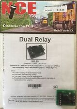 NCE 236 Dual Relay (for Switch-it or Switch-8) 524-236 MODELRRSUPPLY-COM