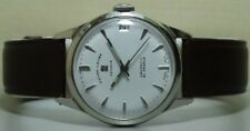 Vintage Favre Leuba Daymatic Swiss Made Wrist Watch S137 Old Used Antique