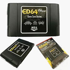 ED64 Plus Game Save Device SD Card Adapter For N64 Game PAL/NTSC Accessory HQ