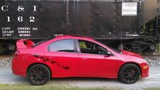 DODGE CALIBER NEON SRT4 SIDE DECALS PAIR MOPAR TURBO CAR MANY COLORS AVALIBLE