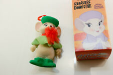 MISS BIANCA Rescuers Mouse Ornament DISNEY Bianca Figurine BOXED McDonald's 1989