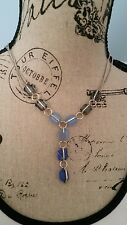 NWT Kenneth Cole New York Silver Tone Mixed Stone Necklace