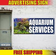 Aquarium Services Banner Advertising Vinyl Sign Flag supplies repair coral shop
