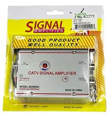 Standard AC 30dB Signal Booster Amplifier Cable TV/UHF/VHF/FM
