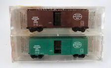 MICRO TRAINS N SCALE 20376-2 ONTARIO NORTHLAND 40' STANDARD BOXCAR 2-PACK