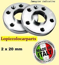 2 DISTANZIALI per Fiat (4x98) 58.1  da 20 mm SENZA bulloni per FIAT/LANCIA