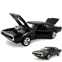 The Fast & The Furious Alloy Metal Dodge Charger Model Classic Car 1:32 KidsToys