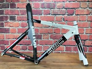 BMC Timemachine TT02 Small 52.5cm Rim Brake Carbon Alloy Frameset 700c TT/Tri