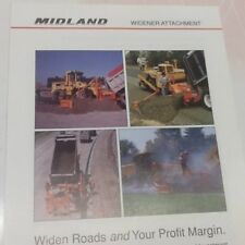 Midland Widener attachment literature with specs. Four separate pieces