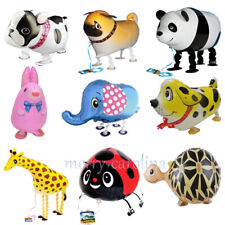 46 Types Cartoon Walking Animals Foil Balloons Birthday Party Supplies Kids Toys