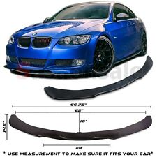 Universal Front Bumper Lip Flat Splitter for 05-10 BMW E90/E92