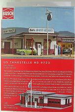H0 Busch US Tankstelle - Bausatz -