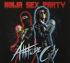 NINJA SEX PARTY CD - ATTITUDE CITY [EXPLICIT](2015) - NEW UNOPENED