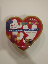 Ty Beanie Babies Baby Official 365 Day 1999 Calendar