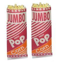 """Large Popcorn Bags 12"""" - 2oz 100 Ct."""" Med.Hills/Gold Medal Jumbo"""